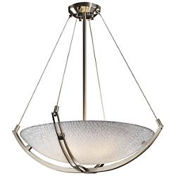 3form Crossbar 24 Inch Pendant Bowl