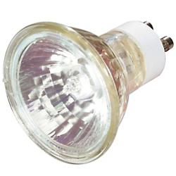 50W 120V MR16 GU10 Halogen Clear FLD Bulb