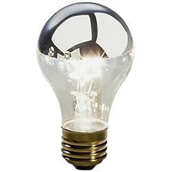 60W 120V A15 E26 Silver Top Bulb 2-Pack