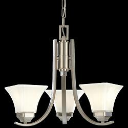 Agilis Mini-Chandelier (Brushed Nickel) - OPEN BOX RETURN