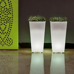 Aix Squara LED Planter