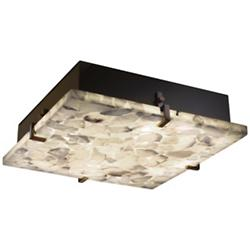 Alabaster Rocks! Clips Square Ceiling/Wall Light