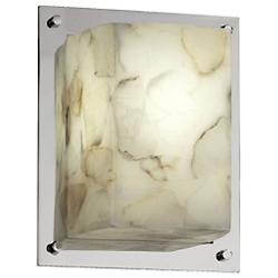 Alabaster Rocks! Framed Wall Sconce