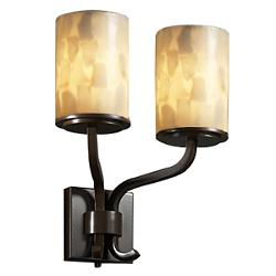 Alabaster Rocks! Sonoma Double Wall Sconce