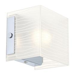 Alea 1 Wall Sconce (Striped Satinated) - OPEN BOX RETURN