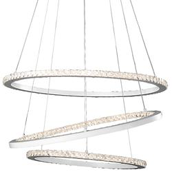 Allos 3-Tier LED Chandelier