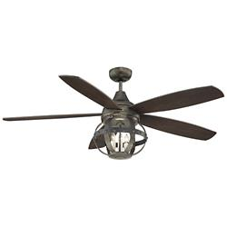 Alsace Ceiling Fan (Reclaimed Wood/Chestnut) - OPEN BOX