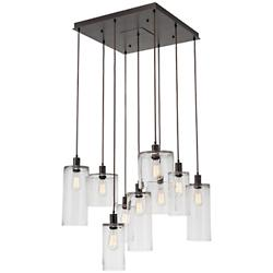 Apothecary Square Multi-Light Pendant