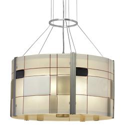 Appliquations Mondrian Drum Pendant