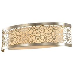 Arabesque Bath Bar (Silver Leaf Patina) - OPEN BOX RETURN