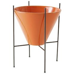 Architectural MS4 Metal Planter Stand (Black) - OPEN BOX