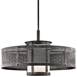 Argesto Drum Pendant with Small Shade