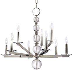 Ashley Multi Tier Chandelier (Nickel) - OPEN BOX RETURN