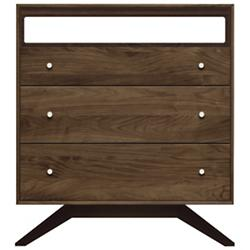 Astrid 3 Drawer Dresser and TV Organizer