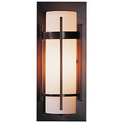 Banded Aluminum ADA Outdoor Sconce