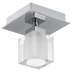 Bantry Square Semi-Flushmount (Nickel) - OPEN BOX RETURN