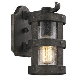 Barbosa B3311 Outdoor Wall Sconce (Seeded) - OPEN BOX RETURN