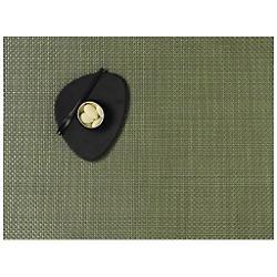 Basketweave Tablemat (Grass Green) - OPEN BOX RETURN