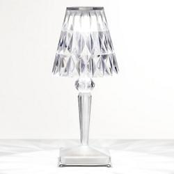 Battery Table Lamp (Transparent) - OPEN BOX RETURN