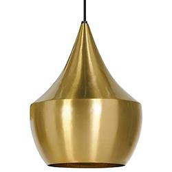 Beat Light Brass Pendant - Fat