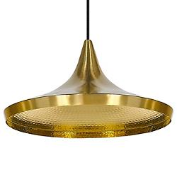 Beat Light Brass Pendant - Wide (Brass) - OPEN BOX RETURN