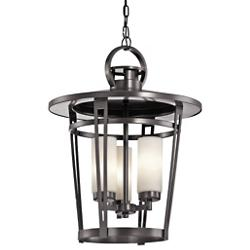 Belmez 3 Light Outdoor Pendant