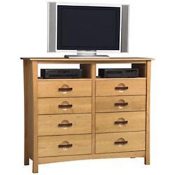 Berkeley 8 Drawer Dresser and TV Organizers