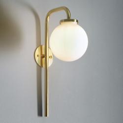 Big Bulb Opal Wall Sconce