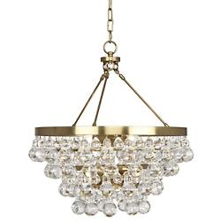 Bling Chandelier/Semi-Flushmount (Brass) - OPEN BOX RETURN