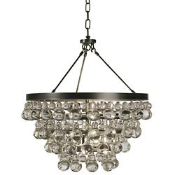 Bling Chandelier/Semi-Flushmount (Bronze) - OPEN BOX RETURN