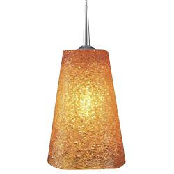 Bling II LED Down Pendant with 4 in. Kiss Canopy