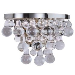 Bling Wall Sconce (Polished Nickel) - OPEN BOX RETURN