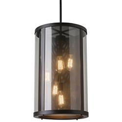 Bluffton Outdoor Pendant (Clear/Bronze) - OPEN BOX RETURN