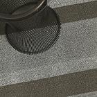 Bold Stripe Shag Mat (Ash/Utility Mat) - OPEN BOX RETURN