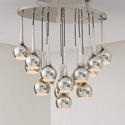 Bottle Light Multi-Light Pendant