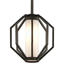 Boundary LED Outdoor Pendant (Textured Graphite) - OPEN BOX