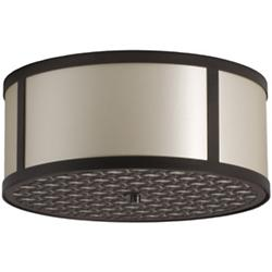 Brentwood Bottom-Patterned Flushmount