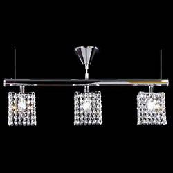 Broadway Square Light Linear Suspension
