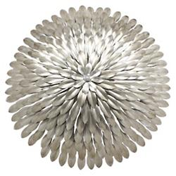Broche Large Wall Sconce/Flushmount (Silver/Wall) - OPEN BOX