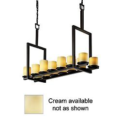 CandleAria Dakota Suspension (Flat/Cream/Bronze) - OPEN BOX