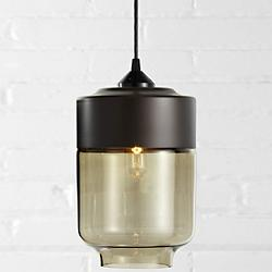 canister pendant bronzedark bronze open box return art glass pendant lighting