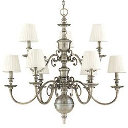 Charleston 2-Tier Chandelier