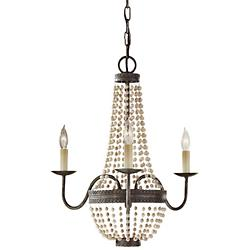 Charlotte Chandelier (Peruvian Bronze) - OPEN BOX RETURN