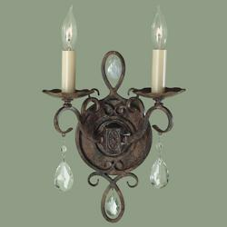 Chateau 2-Light Wall Sconce