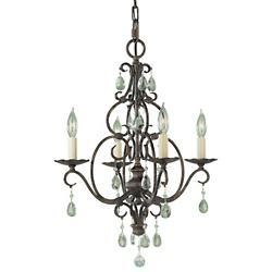 Chateau Chandelier (Mocha Bronze/4 Light) - OPEN BOX RETURN
