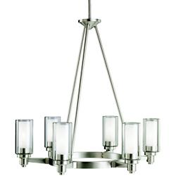 Circolo 6-Light Oval Chandelier