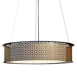 Clarus Drum Pendant with Diffuser
