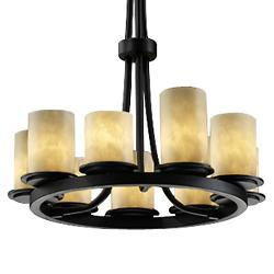 Clouds Dakota 9-Light Ring Chandelier