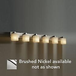 Clouds Modular Bath Bar (Brushed/Oval/6 Lights) - OPEN BOX