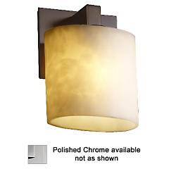 Clouds Modular Wall Sconce (Oval/Chrome) - OPEN BOX RETURN